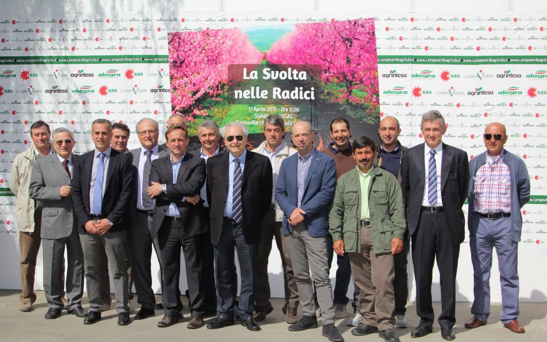 Presentazione del piano frutticolo di riconversione del gruppo OSAS