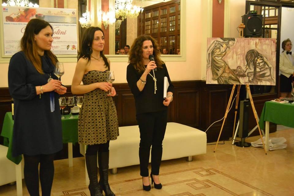 Arianna Greco Anna Aloi ed Eleonora Uccellini