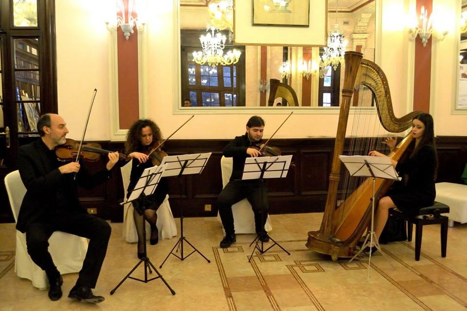Il quartetto d'archi dell'orchestra CILEA