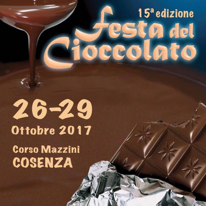 Festa del cioccolato 2017 a Cosenza